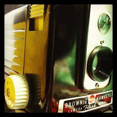 Aperture Photograph - Brownie Hawkeye by Gabe Arroyo