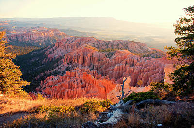 Bryce Canyon At Sunrise Print by James Bethanis