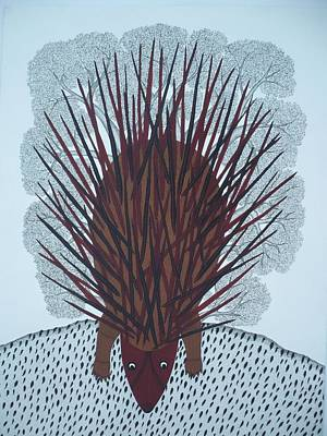 Gond Art Gallery Painting - Bs56 by Bhajju Shyam