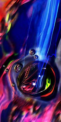 Bubble Motion 3  Print by Terril Heilman