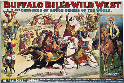Buffalo Bill: Poster, 1899 Print by Granger