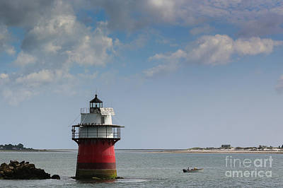 Bug Light In Plymouth Ma Original by Lori Whalen