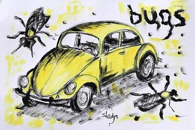 Bugs Print by Sladjana Lazarevic