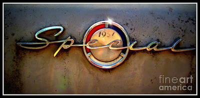 Antic Car Photograph - Buick 1957 by Irina Hays