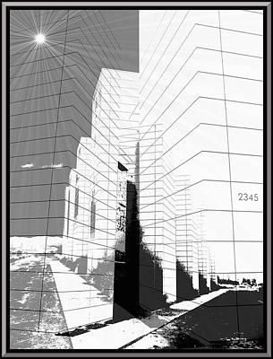 Merging Digital Art - Building Blocks by Glenn McCarthy Art and Photography