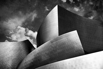 Black And White Photograph - Building Structure 2 by Sumit Mehndiratta
