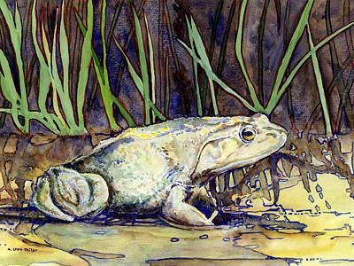Bullfrog Original by A Leon Miler