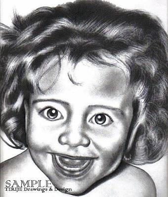 Tattoo Stencils Drawing - Bumblez Kid by Rick Hill