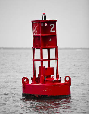 Buoy Two Print by Donni Mac