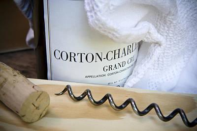Burgundy Wine Print by Frank Tschakert