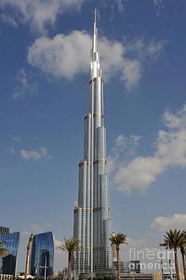 Burj Khalifa 2 Print by Graham Taylor