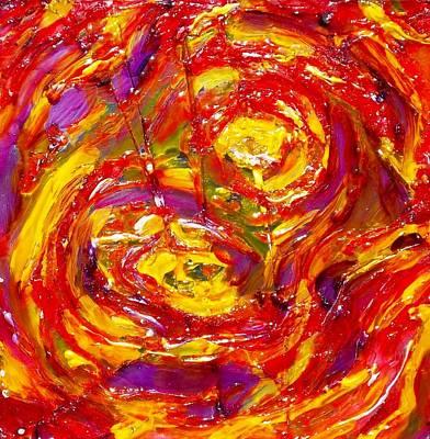 Burning Print by Hatin Josee