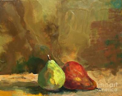 Burnished Pears Print by Ruth Stromswold