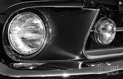 Black And White Photograph - Burnt Rubber by Luke Moore
