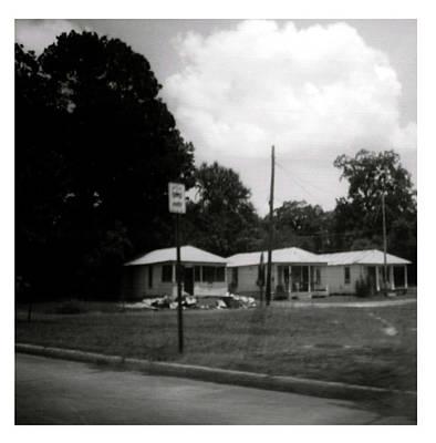 Tarkovsky Photograph - Bus Stop by Doug  Duffey