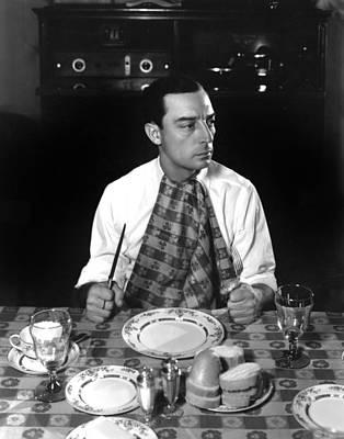 Hurrell Photograph - Buster Keaton, Mgm, 1933, Photo by Everett