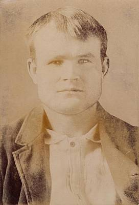Butch Cassidy Was The Alias Of Robert Print by Everett