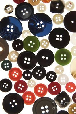Buttons Print by Bernard Jaubert