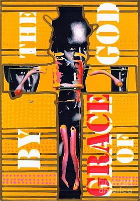 By The Grace Of God Print by Ricky Sencion