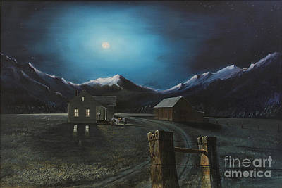 By The Mountain Moon Light He Comes A Callen Original by David Ackerson