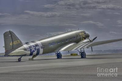 C-47 Skytrain Print by David Bearden