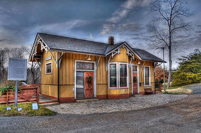 C And O Railway Station Original by Todd Hostetter