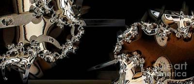 Caballero Digital Art - Caballeros by Ron Bissett