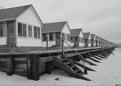 Photograph - Cabins At Truro by Stephen EIS
