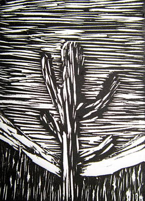 Cactus Print by Marita McVeigh