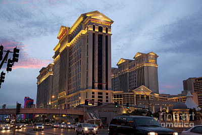 Caesars Palace  Print by Jane Rix
