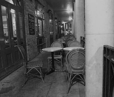 Cafe Rouge Print by Anna Villarreal Garbis