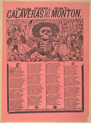 Calaveras Del Monton, Numero 1 Print by Everett
