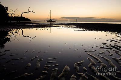 Calm Harbor At Dusk Print by Matt Tilghman