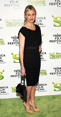 Tribeca Film Festival Premiere Photograph - Cameron Diaz  At Arrivals For Shrek by Everett