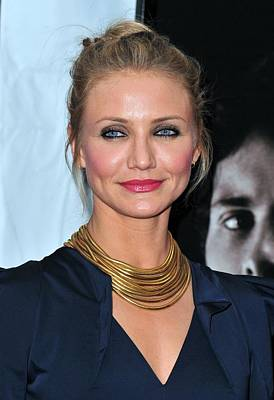 Amc Loews Lincoln Square Theatre Photograph - Cameron Diaz At Arrivals For The Box by Everett