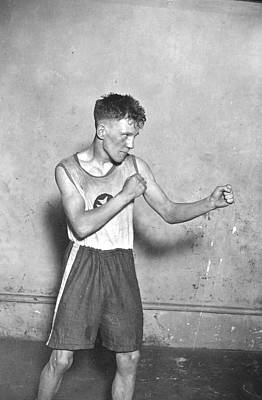 Boys Boxing Photograph - Canadian Boxer by Topical Press Agency