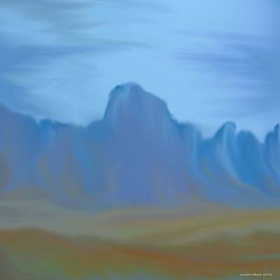 Canadian Foothills. Print by Susan Oliver