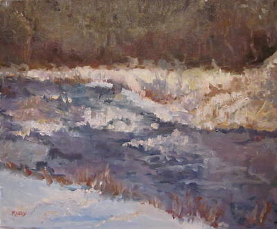 Painting - Canadian River by Brent Moody