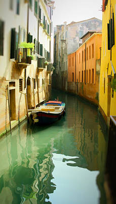 Canal Print by Photography Art