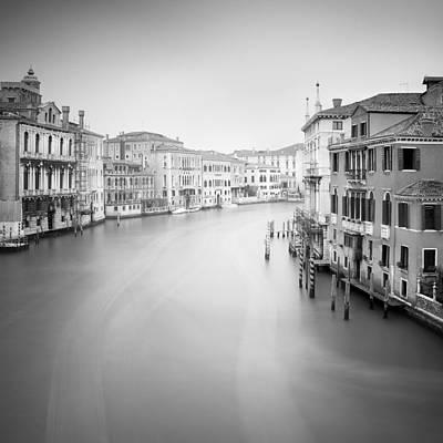 Gondola Photograph - Canal Grande Study II by Nina Papiorek