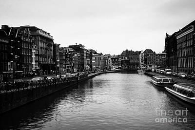 Leda Photograph - Canals Of Amsterdam by Leslie Leda