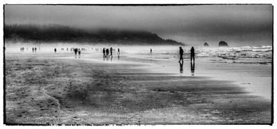 Cannon Beach Fog Print by David Patterson