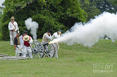 Cannon Fire Print by JT Lewis