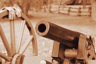 Cannon Ready Print by Jonathan Bateman