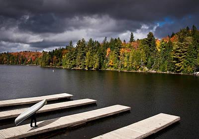Canoe Lake Print by Cale Best