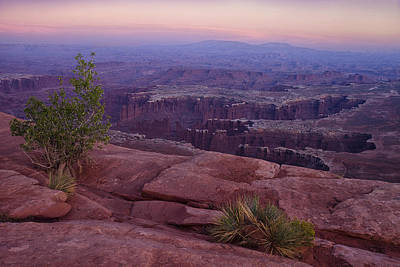 Canyonlands At Dusk Print by Andrew Soundarajan