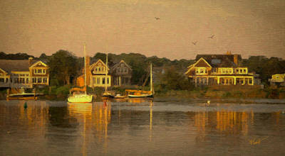 Cape Cod Evening Print by Michael Petrizzo