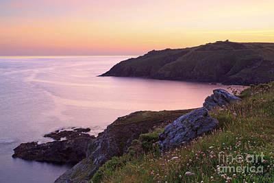 Cape Cornwall To Kenidjack Castle Print by Richard Thomas