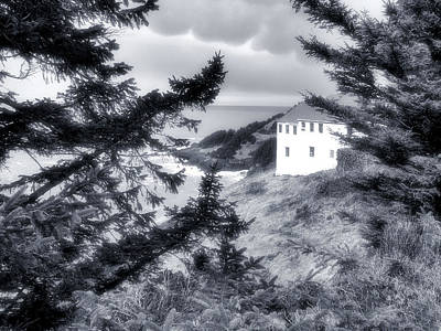 Cape Foulweather Print by Lora Fisher Photography