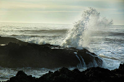 Ocean Photograph - Cape Perpetua by Becky Thompson